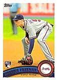 2011 Topps Baseball #145 Freddie Freeman Rookie Card. rookie card picture