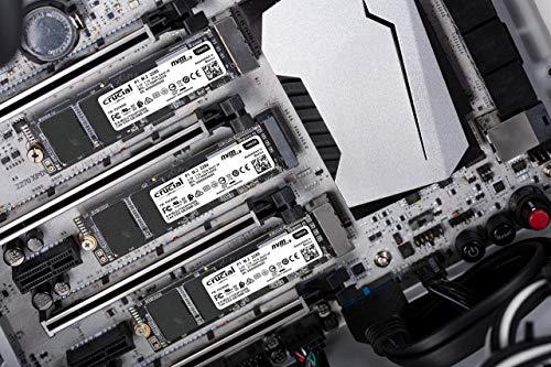 Crucial CT1000P1SSD8 P1 Disco Duro sólido Interno SSD de 1TB 3D NAND NVMe PCIe M.2 SSD