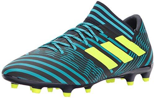 adidas Men's Nemeziz 17.3 FG Soccer Shoe, Legend Ink/Solar Yellow/Energy Blue, 12 Medium US