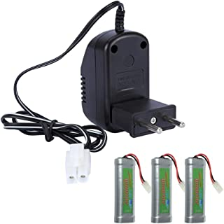 Redcolourful Battery Charger Sc Type 7.2v Toy Battery Ni-mh Nickel-cadmium Battery Pack Charger European standard Interest...