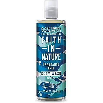 Faith in Nature - Gel Doccia 100% Naturale Completamente Inodore, Per tutti I Tipi di Pelle, Senza Parabeni, Vegano