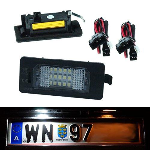 Do!LED ADP LED Kennzeichenbeleuchtung Xenon Weiss mit E-Prüfzeichen