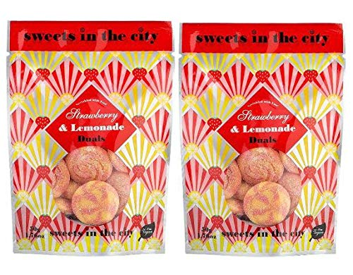 Vegan Sweets and Snacks by Sweets in The City- 125g. Perfect for Vegetarian Gifts - Vegan Hamper - Vegan Gifts for Women and Men(Pack of 2).