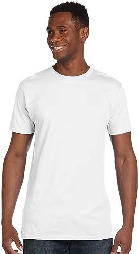 4980 Nano T-shirt pour hommes 1 Deep Royal + 1 blanc 2XL