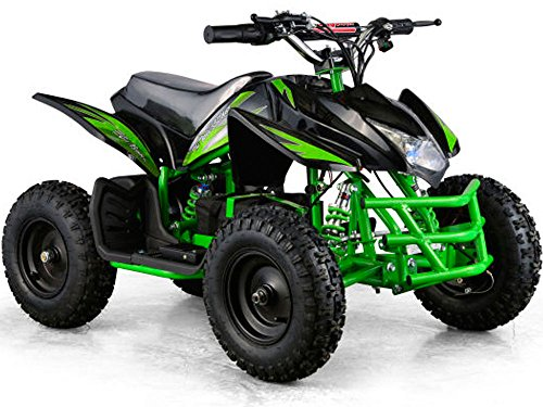 Titan Outdoor Kids Children 24V Green Mini Quad ATV