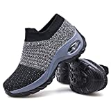 7. Multi-purpose Use: Women's Walking Shoes Sock Sneakers Review