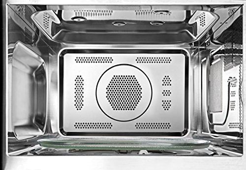 Toshiba EC042A5C-BS Countertop Microwave oven with Convection, Smart Sensor, Sound on/off Function and LCD Display, 1.5 Cu.ft, Black Stainless Steel