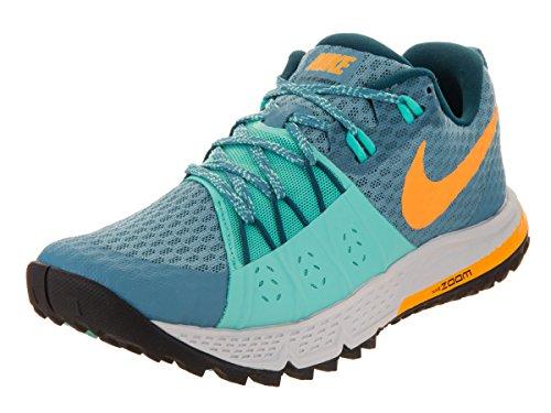Nike Air Zoom Wildhorse 4 Cerulean/Aurora/Pr Pltnm/Lsr Orng Zapatillas de correr 6.5 para mujer US