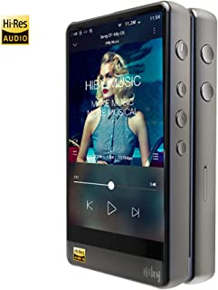 HiBy R6 Pro Hi-Res Music Player, Hi-Fi Lossless MP3 Player with aptX/aptX HD/LDAC/Bluetooth/Android 8.1/Amazon Music Ultra HD/DSD/5G WiFi/4.4 Balance Output, High Resolution Audio Player Touch Screen