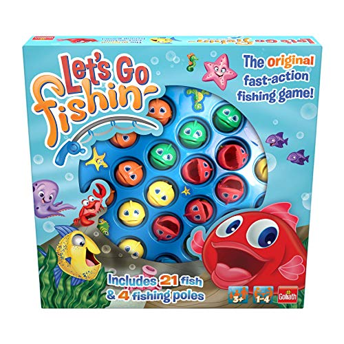 Goliath- Let's Go Fishing Original. Juego de Pesca para niñ