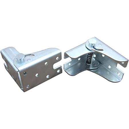 TopDirect 4PCS 75 x 60 x 55mm bisagras de hierro mesa patas ...