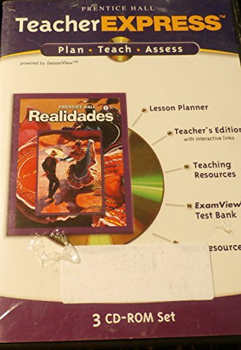 Teacher Express 3 CD-ROM Set  Realidades 1