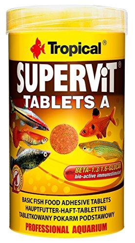 TROPICAL Supervit Tablets A Nourriture pour Aquariophilie 50 ML