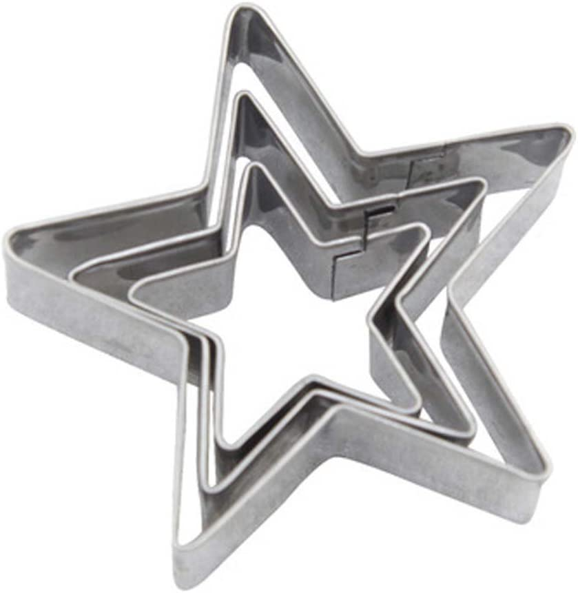 LRZCGB Star Cookie Cutter Shape Superlatite Bakeware Steel Tools Stainless Max 55% OFF