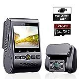 VIOFO A129 Duo Caméra de Voiture Double Dashcam Avant et arrière Grand Angle Full HD 1080P WiFi...