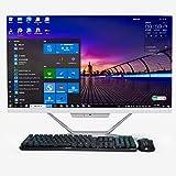 Computadora de Escritorio Todo en uno de 23.8'Procesador Intel Core i5 5200U /2.20-GHz, 4GB RAM, 128GB SSD, PC AIO Windows 10 Pro, Teclado y Mouse inalámbricos, BT4.2, Salida HDMI/VGA Full HD
