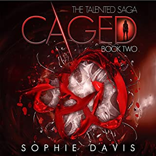Caged (Talented Saga) audiobook cover art