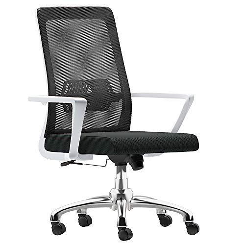 Qi Peng-//Chaise pivotante-Ordinateur Chaise Home Lift Chaise pivotante Chaise de Bureau du Personnel de Bureau Chaise de conférence Chaise de Dossier Ergonomique Moderne Chaise pivotante