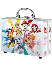 Juego de accesorios de baño para niños de la Patrulla Canina, incluye un pequeño maletín de PawPatrol, esponja de baño, toalla mágica, confeti, gel de ducha