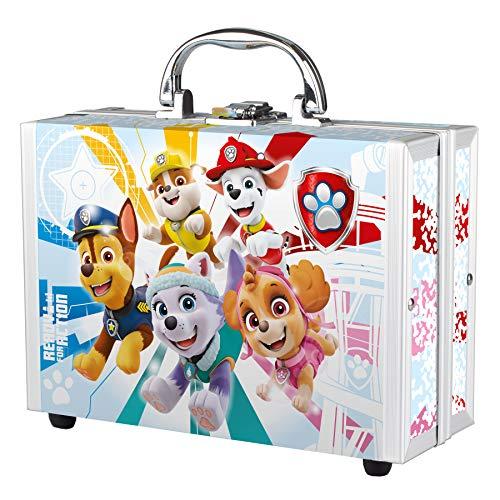 PAW Patrol - Pflege-Set und Bade-Spaß, Spiel- und Beauty-Koffer für Kinder, 6-teilig, mit Duschgel, Schwamm und bunten Bade-Zusätzen, besonderes Geschenk-Set für Kleinkinder und Fans