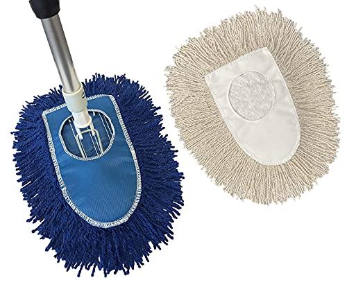 Triangle Dust Mop Kit: 4 Piece Industrial Dust Mop...