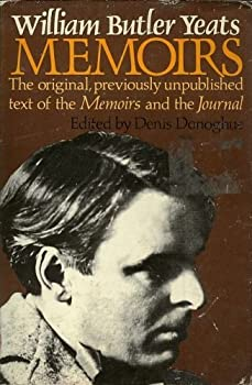 William Butler Yeats Memoirs 0026326205 Book Cover