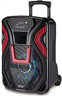 Geepas Rechargeable Trolley Speaker, Gms8532,Multi Color