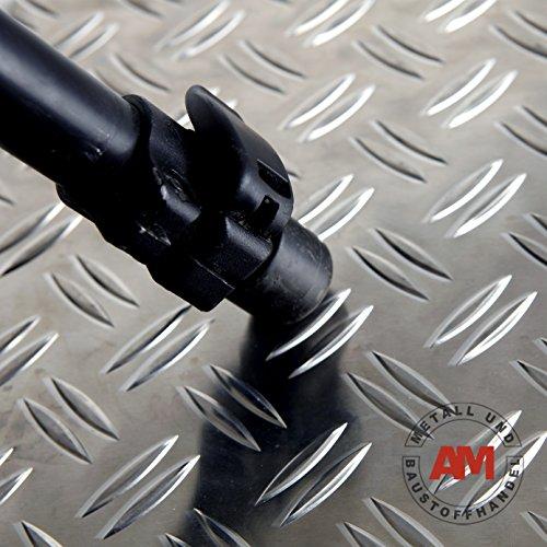 Aluminium Riffelblech 1,5/2,0mm 2000x1000mm Duett Alu Warzenblech Tränenblech Riffel Blech