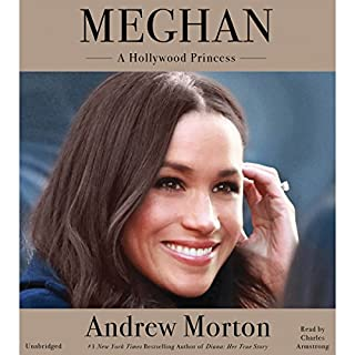 Meghan: A Hollywood Princess audiobook cover art