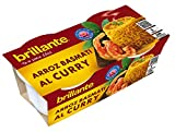 Brillante Arroz Al Curry 125G X 2 - [Pack De 8] - Total 2 Kg