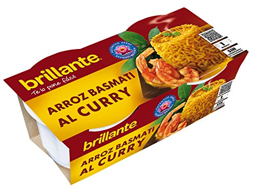 Brillante Arroz Al Curry 125G X 2 - [Pack De 8] - Total 2 Kg