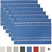 DII 100% Cotton French Stripe Table Tops