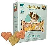 Jeffo Cara weizenfreie Hundekekse mit Rindfleisch (2 x 250g)