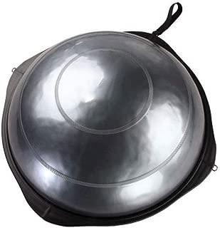 GLJJQMY Yoga Balance Ball Bola Pilates Balance Hemisphere Gym Exercise Advanced Explosion-Proof 2 Colors Massage Balance Ball (Color : B)