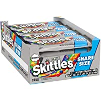 24-Count Zombie SKITTLES Share Size Halloween Candy 3.6-Ounce