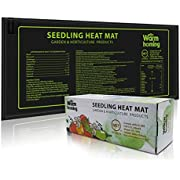 "Seedling Heat Mat, Warmhoming Seed Propagating Heat Mat for Seedling, Durable Waterproof Warm Hydroponic Heating Pads (18.5"" x 8.5"")"