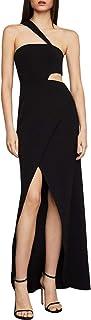 BCBG Max Azria Womens Acasia High-Low One Shoulder Evening Dress