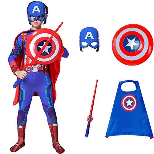 Towel Rings Vengadores Disfraz De Capitn Amrica Y Disfraz De Escudo Infantil Traje Americano Ropa Capitn Navidad Superman
