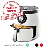 Dash DFAF455GBWH01 Deluxe Electric Air Fryer plus Oven Cooker with Temperature Control, Non Sti…