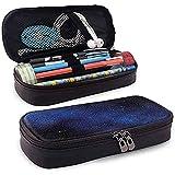 Estuche de lápices, Estuche de lápices, Estuche de lápices, Oficina de secundaria de gran capacidad Oficina Cielo nocturno Galaxia Estrellas Vía láctea 20 cm * 9 cm * 4 cm