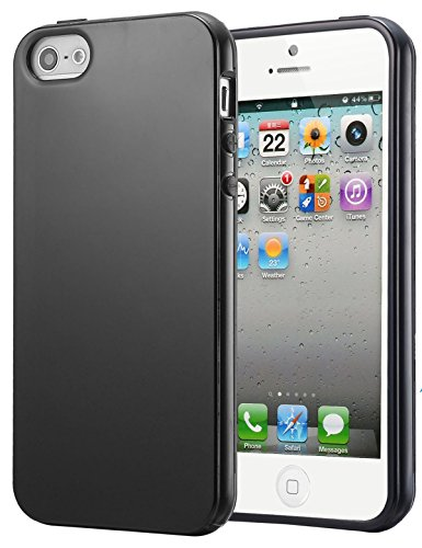 Cheapest Price! FDTCYDS iPhone 5s Case, Slim Fit TPU Clear Soft Case Cover for Apple iPhone 5/5S - B...