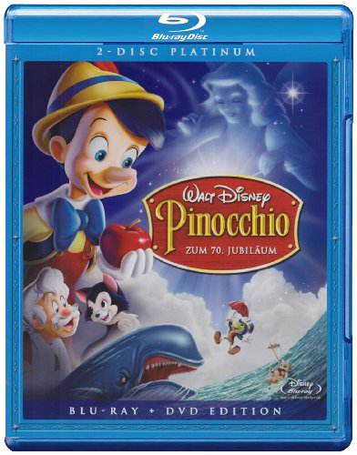 Pinocchio-Combo Box (Blu-Ray & DVD) -Limitierte [Import]