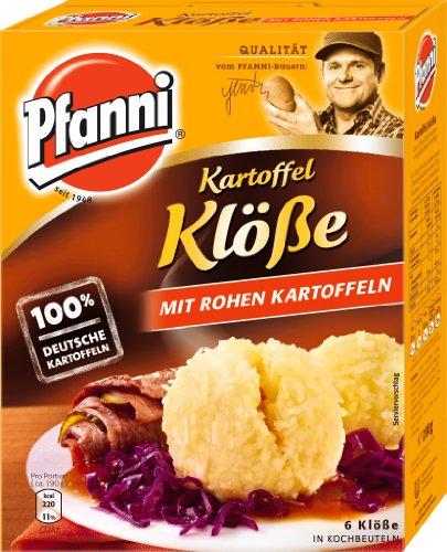 Pfanni Potato Dumplings with Raw Potatoes (Kartoffel Klöße mit Rohen...