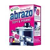 abrazo Topf & Pfanne Reinigungskissen antibakteriell Reinigungs-Schwamm Topfreiniger Grillreiniger &...