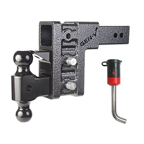 Great Price! GEN-Y Hitch GH-1623 Bolt 7023585 Receiver Drop Hitch and Lock Bundle