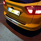 WXQYR 2 unids/Set lámpara de matrícula de luz LED Blanca Trasera de Alto Brillo para Ford Focus Mondeo Fiesta para Jaguar XJ XF Accesorios de Coche
