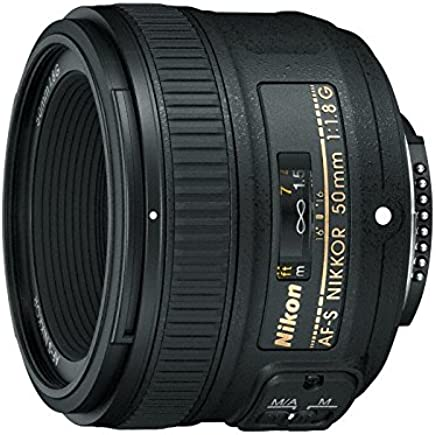 Nikon AF-S FX NIKKOR 50mm f/1.8G Lens with Auto Focus for...