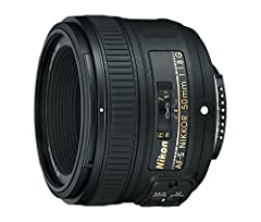 Fast, upgraded f/1.8, compact FX format prime lens. The picture angle with 35 millimeter (135) format is 47 degree and the maximum reproduction ratio is 0.15X Focal Length 50 millimeter, Minimum Focus Distance 1.48 feet (0.45 meter) Newly developed o...