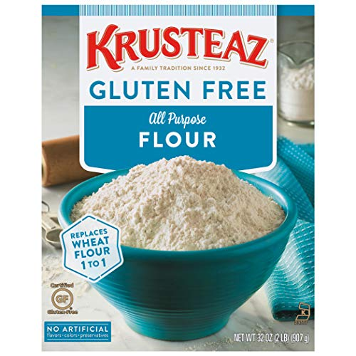 Krusteaz Gluten Free All-Purpose Flour, 32 oz pack of 8