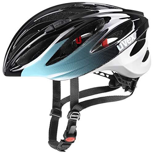 uvex Unisex– Erwachsene boss Race Fahrradhelm, Sky, 55-60 cm